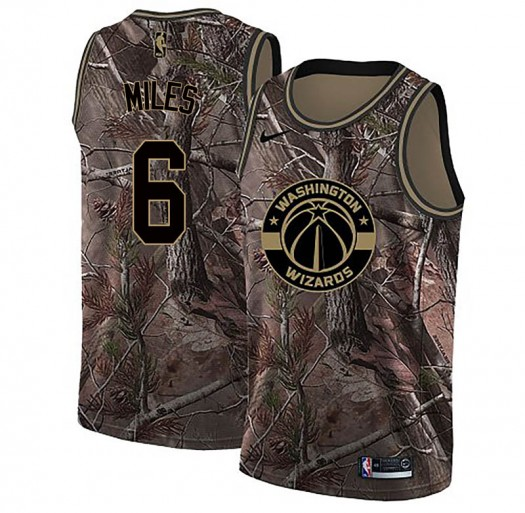 Youth CJ Miles Washington Wizards Nike Swingman Camo Realtree Collection Jersey